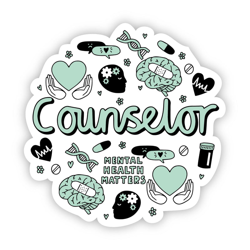 Counselor Sticker