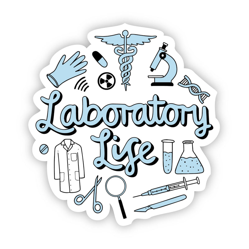 Laboratory Life Sticker
