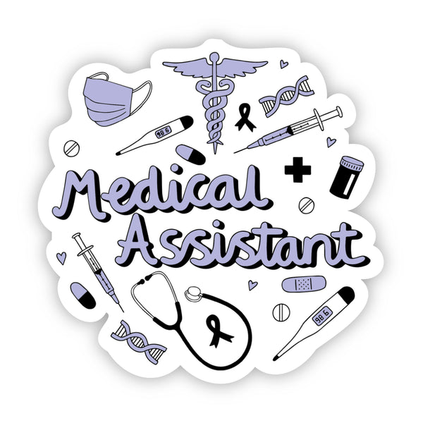 Medical Assistant Sticker