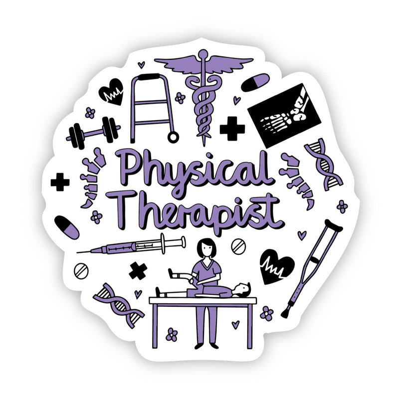 Physical Therapist Sticker