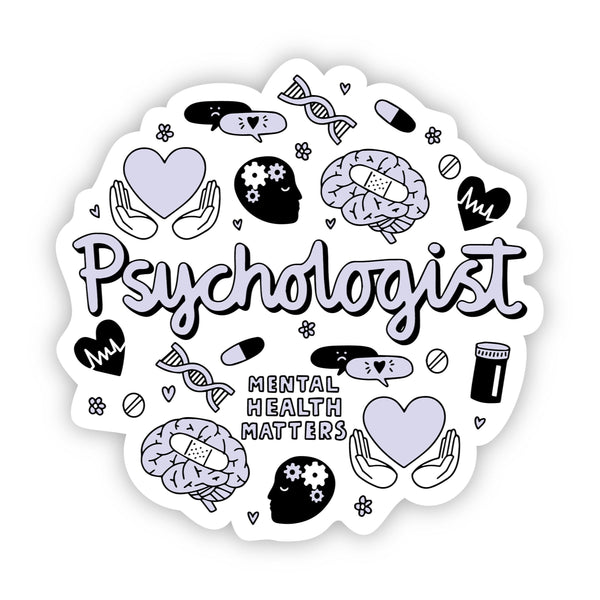 Psychologist Sticker