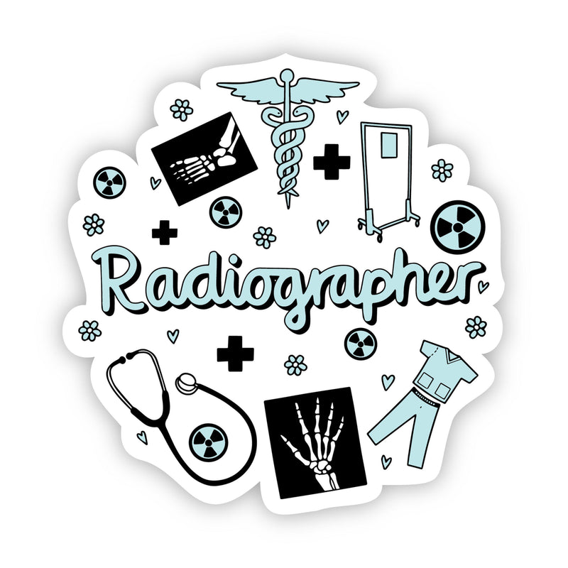 Radiographer Sticker