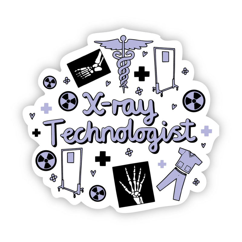 X-ray Technologist Sticker