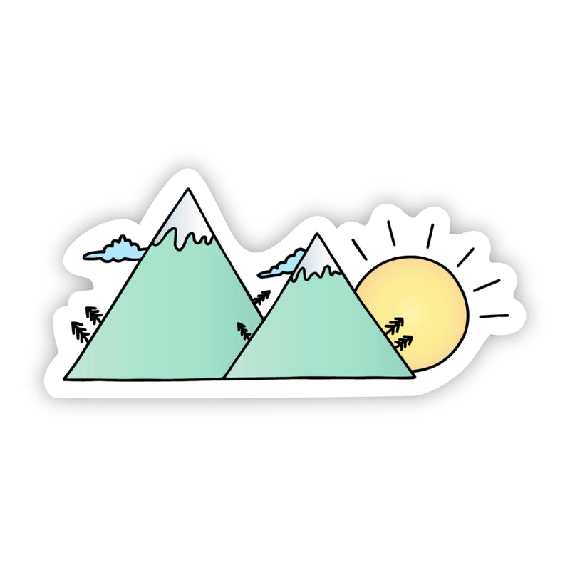 Green Mountains Sticker