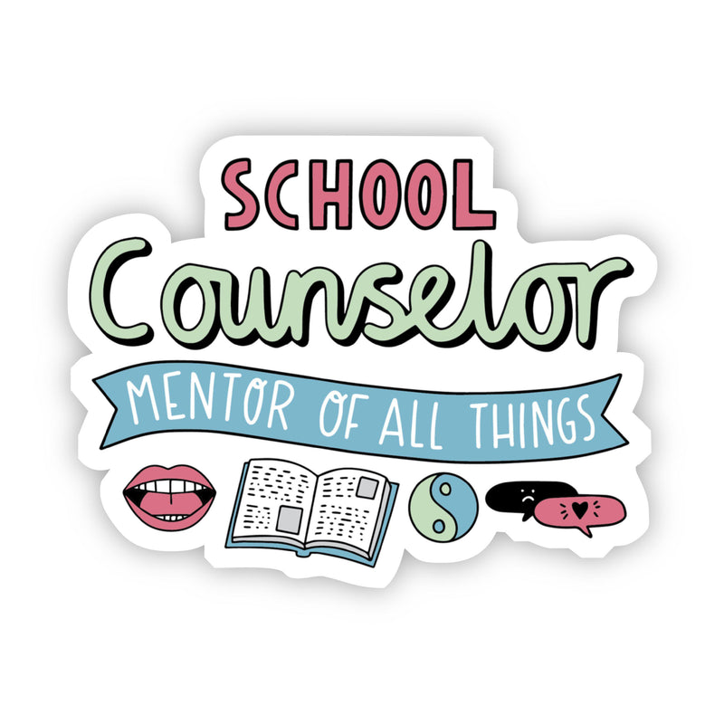 School Counselor Sticker