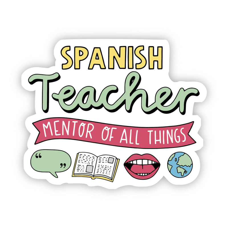 Spanish Teacher Sticker