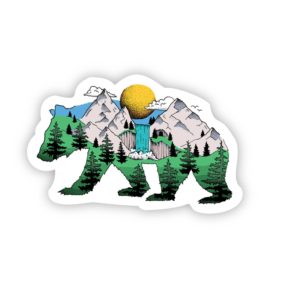 Bear Nature Sticker