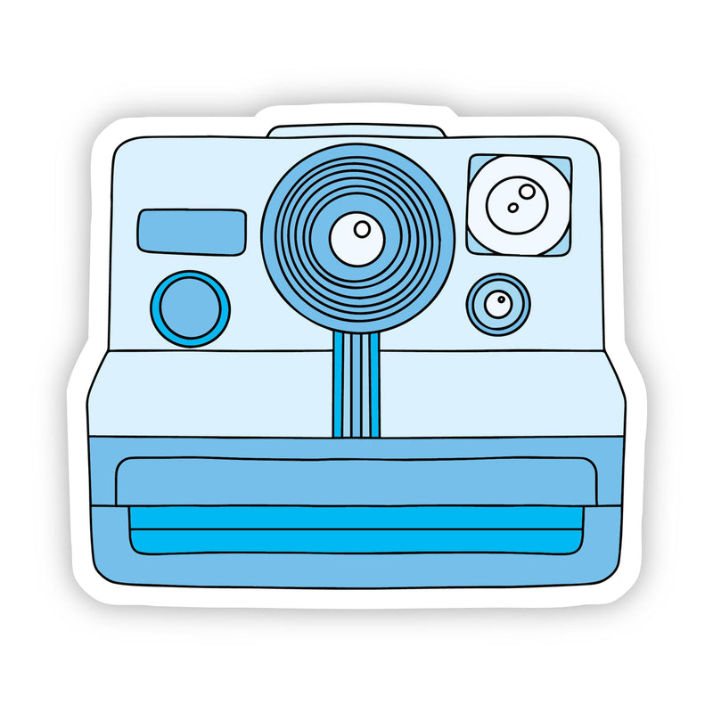 Blue Camera Aesthetic Sticker