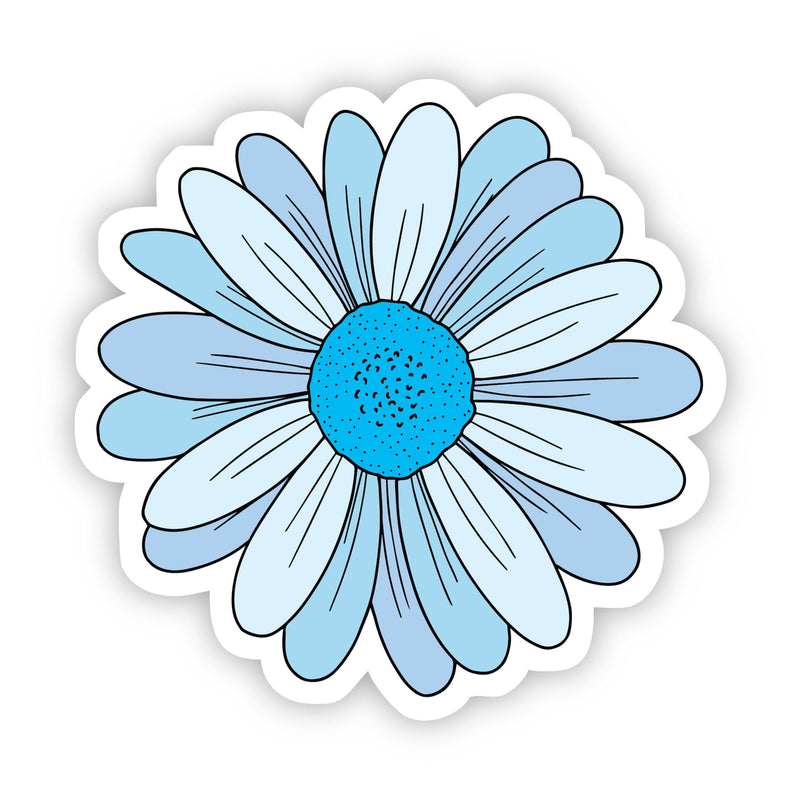 Blue Daisy Aesthetic Sticker