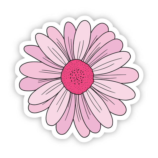 Pink Daisy Aesthetic Sticker