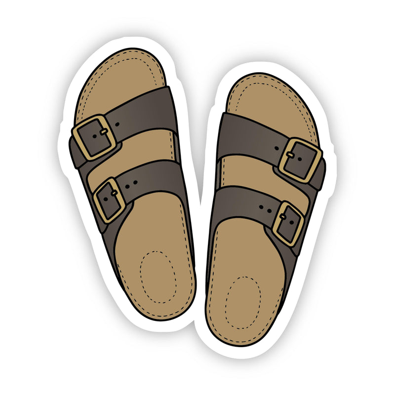 Cute Sandals Beach Aesthetic Sticker