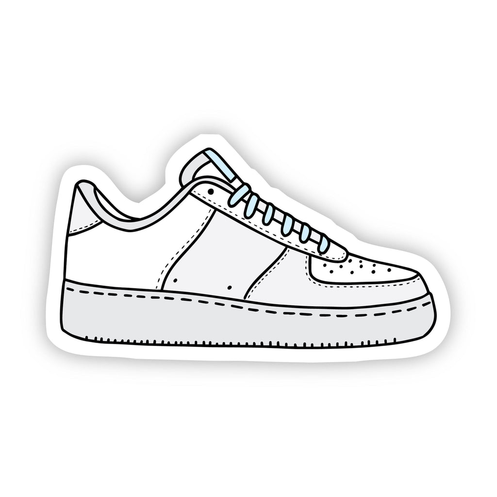 White Sneaker Aesthetic VSCO Sticker