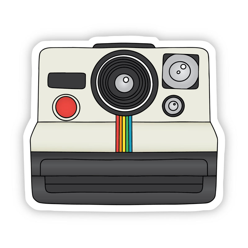 Classic Instant Camera Aesthetic Sticker