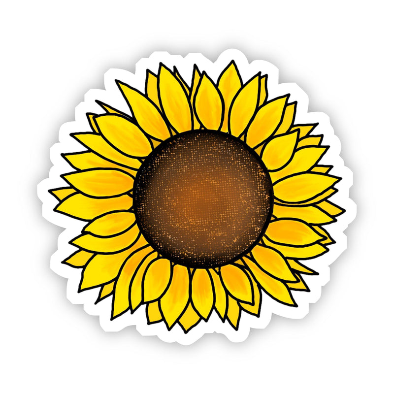 Cute Sunflower Yellow Sticker
