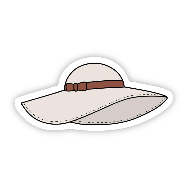 Sunhat Aesthetic Sticker