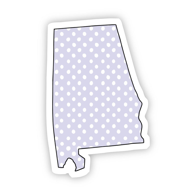 Alabama Polka Dot Sticker