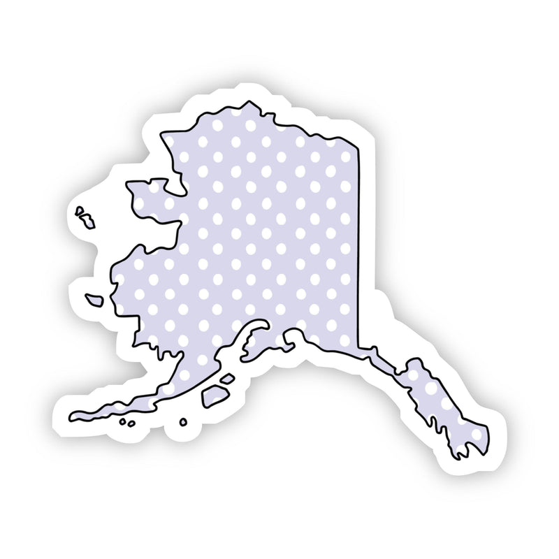 Alaska Polka Dot Sticker