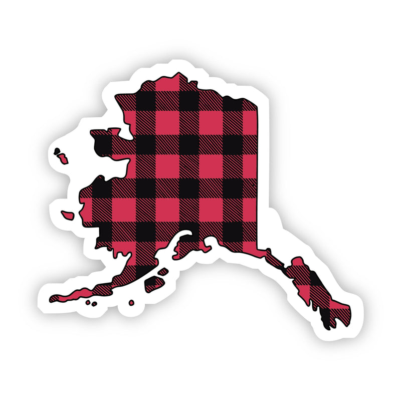 Alaska Flannel Sticker