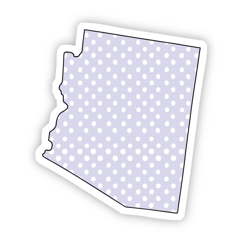 Arizona Polka Dot Sticker