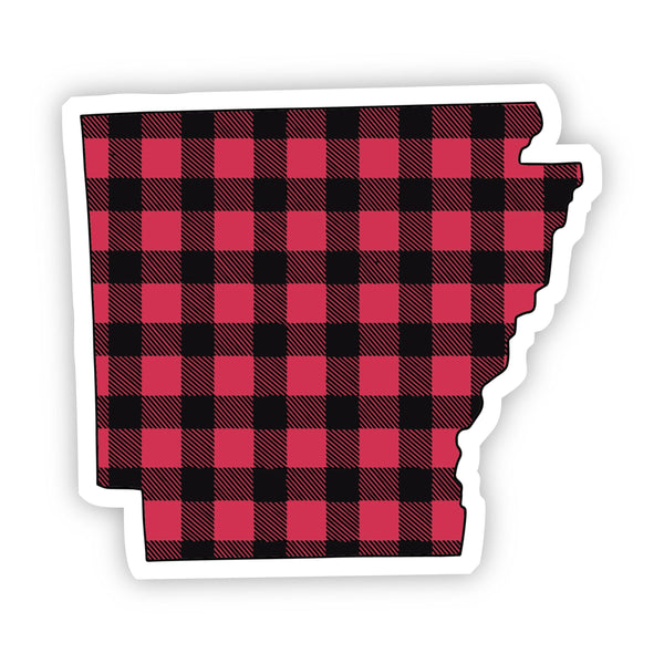 Arkansas Flannel Sticker
