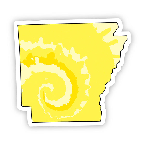 Arkansas Yellow Sticker