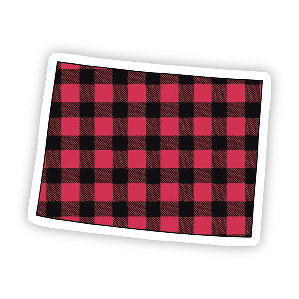Colorado Flannel Sticker