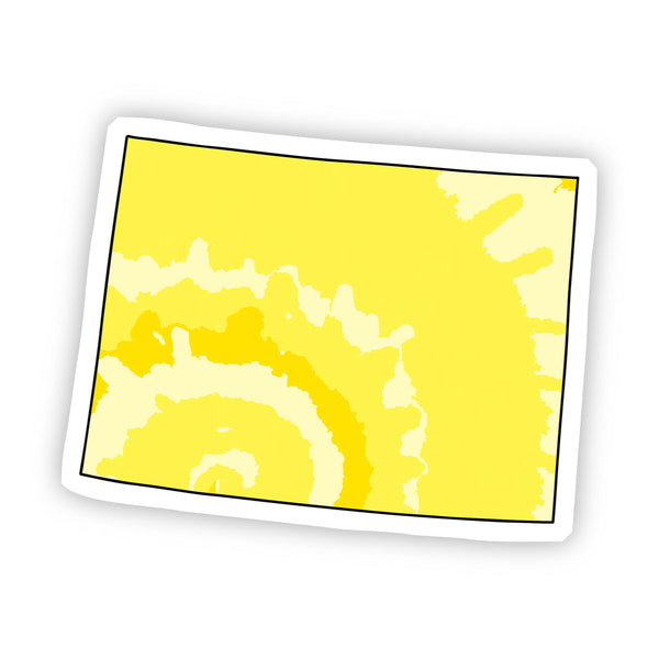 Colorado Yellow Sticker