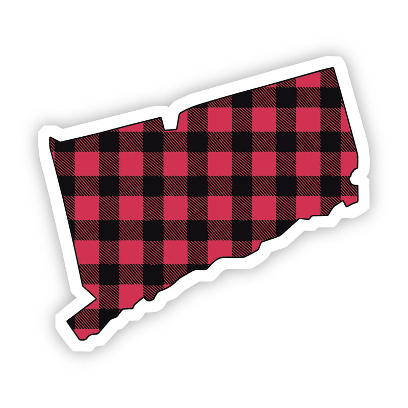 Connecticut Flannel Sticker