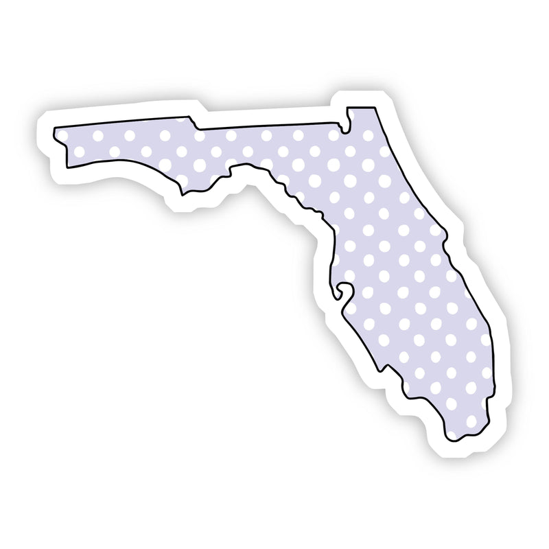 Florida Polka Dot Sticker