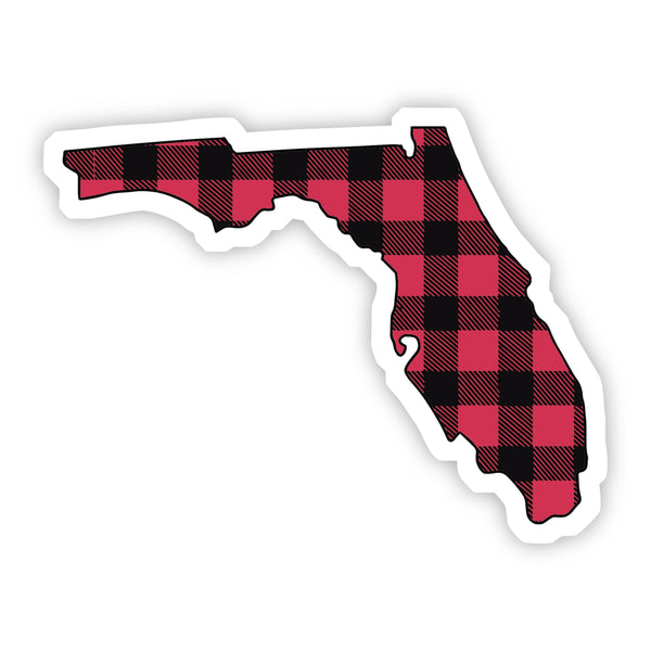 Florida Flannel Sticker