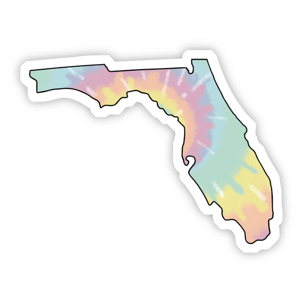 Florida Tie Dye Sticker