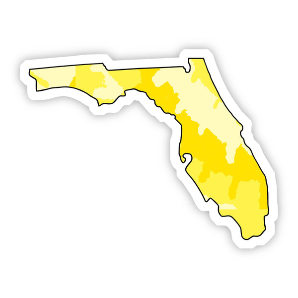 Florida Yellow Sticker