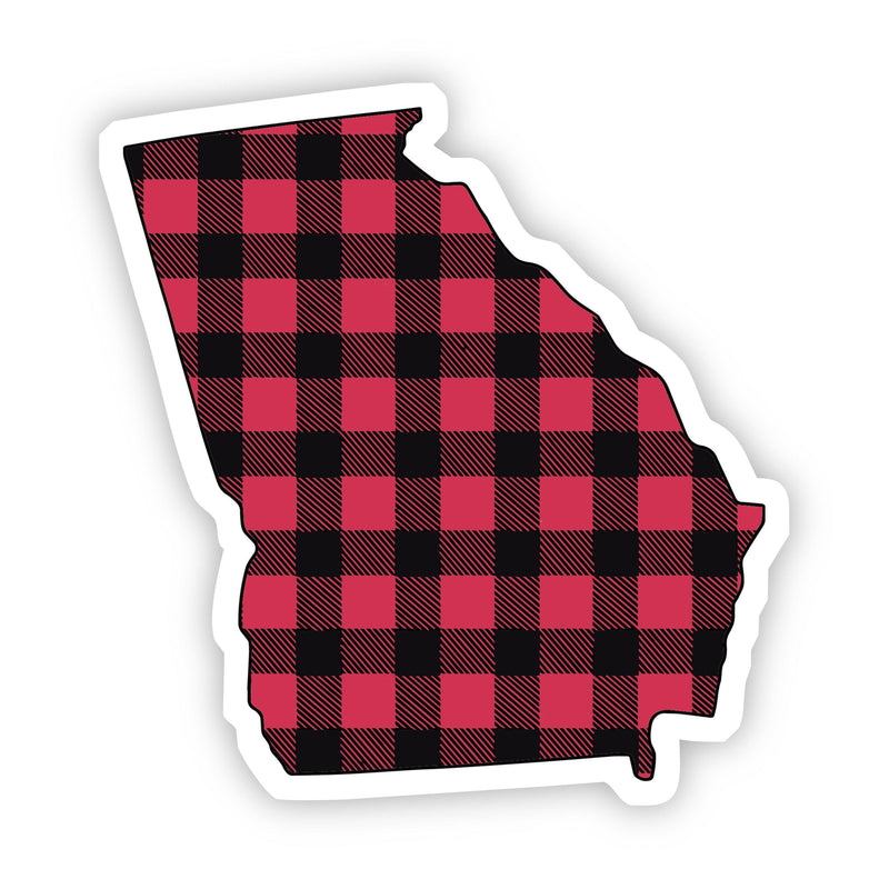 Georgia Flannel Sticker