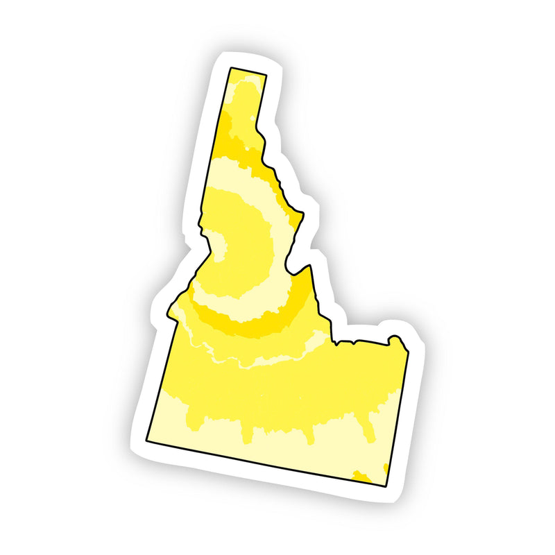 Idaho Yellow Sticker