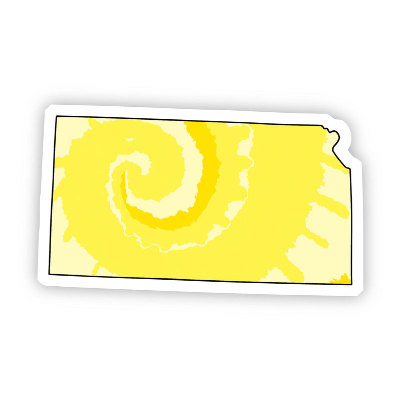 Kansas Yellow Sticker