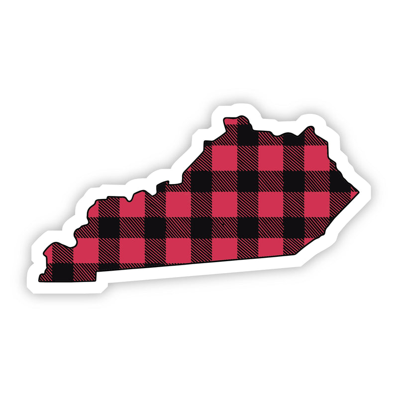 Kentucky Flannel Sticker