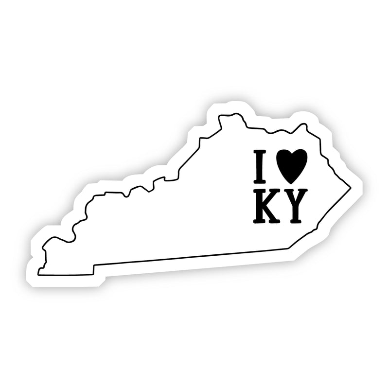 I Love Kentucky Sticker