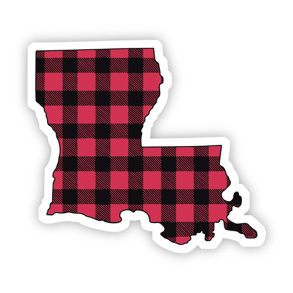 Louisiana Flannel Sticker