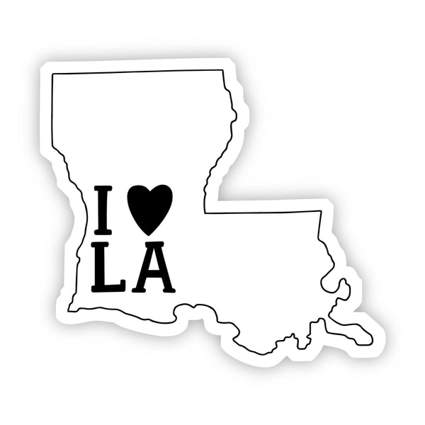 I Love Louisiana Sticker