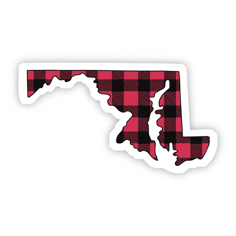 Maryland Flannel Sticker