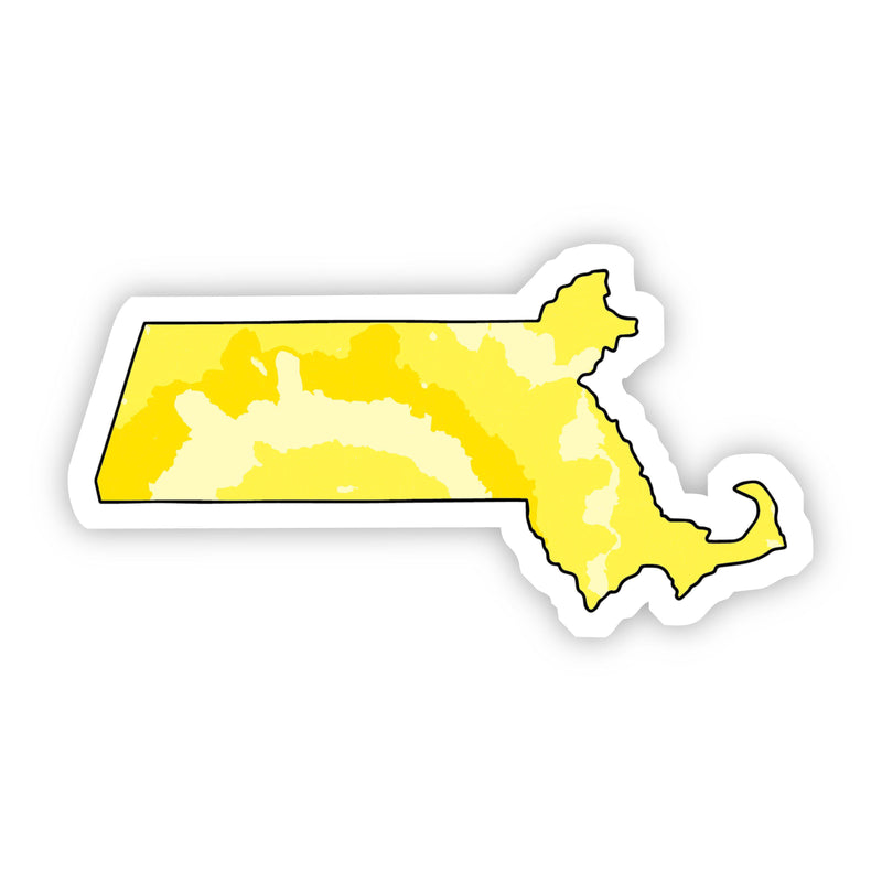 Massachusetts Yellow Sticker