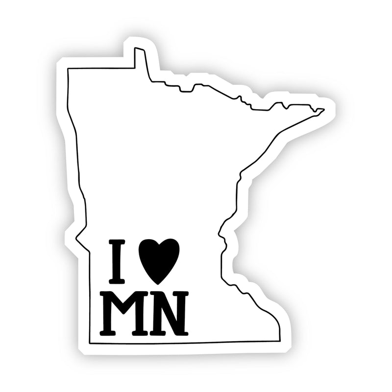 I Love Minnesota Sticker