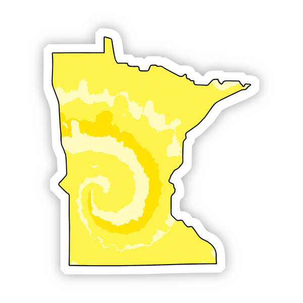 Minnesota Yellow Sticker