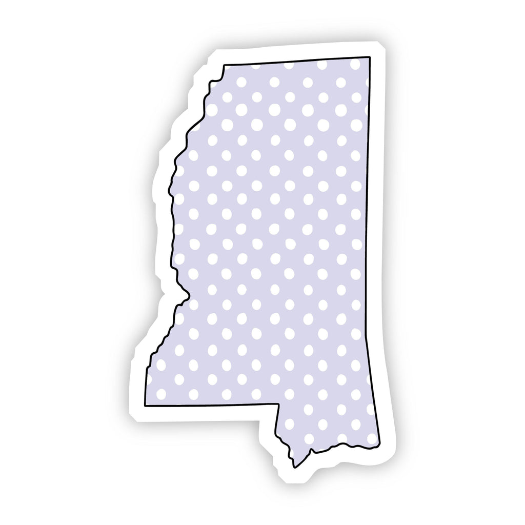 Mississippi Polka Dot Sticker