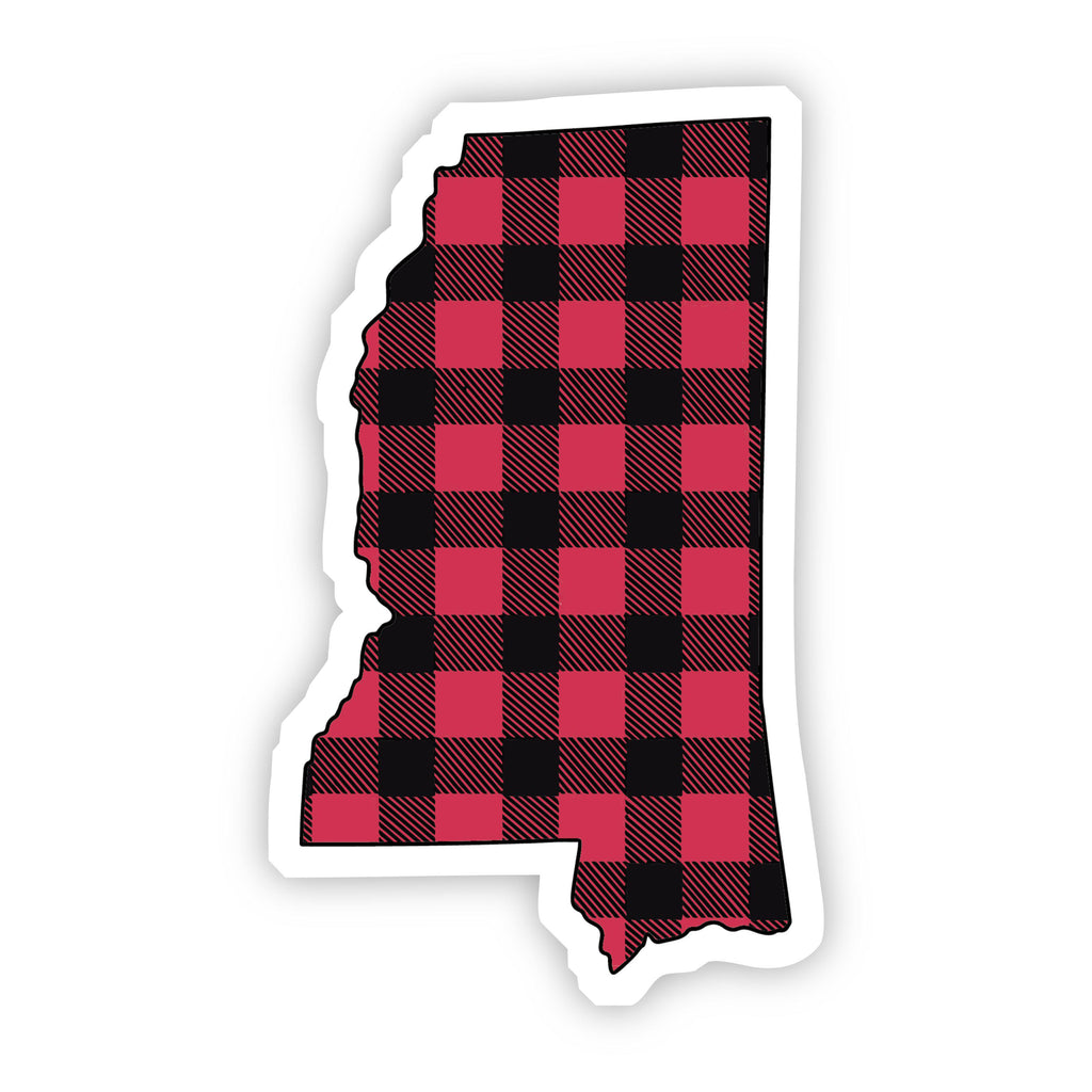 Mississippi Flannel Sticker
