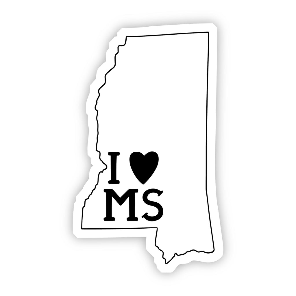 I Love Mississippi Sticker