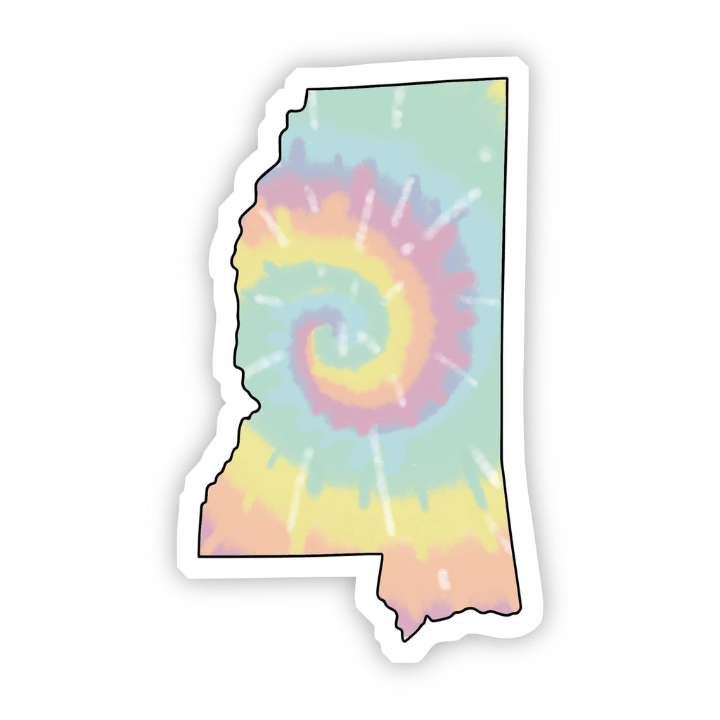 Mississippi Tie Dye Sticker