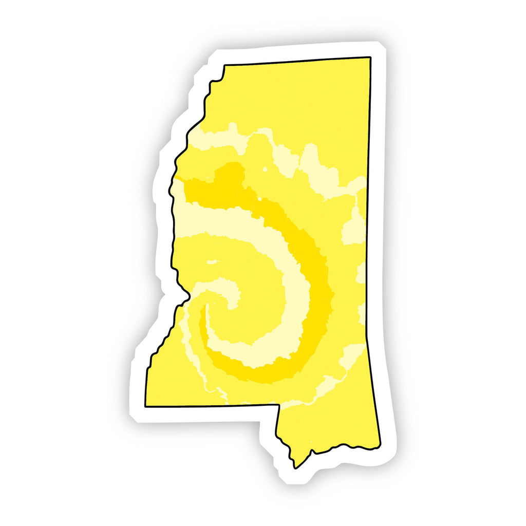 Mississippi Yellow Sticker