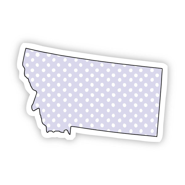 Montana Polka Dot Sticker
