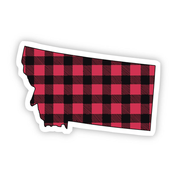 Montana Flannel Sticker